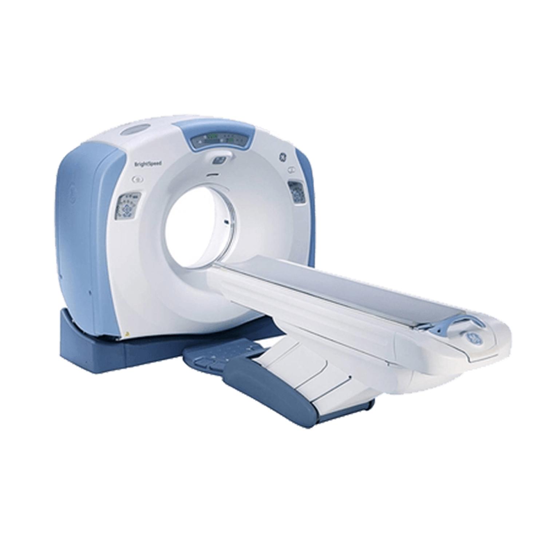 GE BrightSpeed 16 CT Scanner