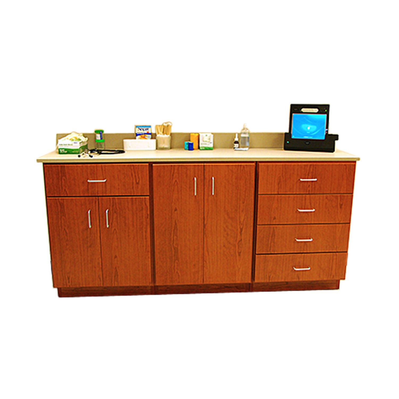 DRE Value Cabinet Series: 5 Drawers, 4 Door Cabinet