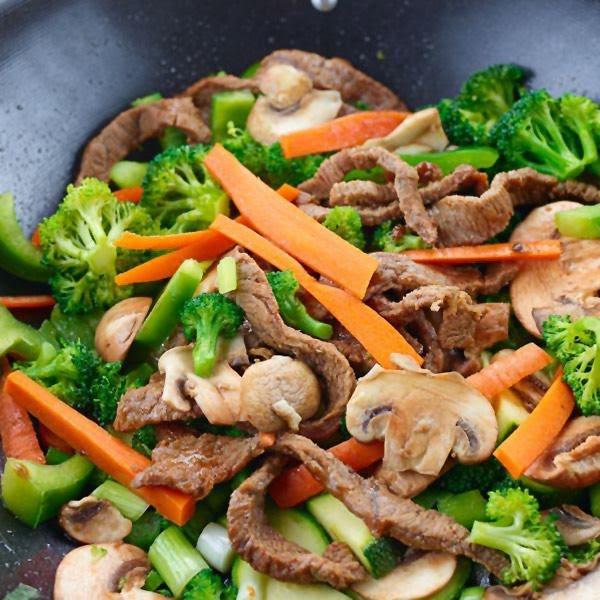 Bowl de res y verduras