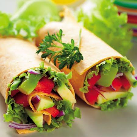 Burrito de verduras