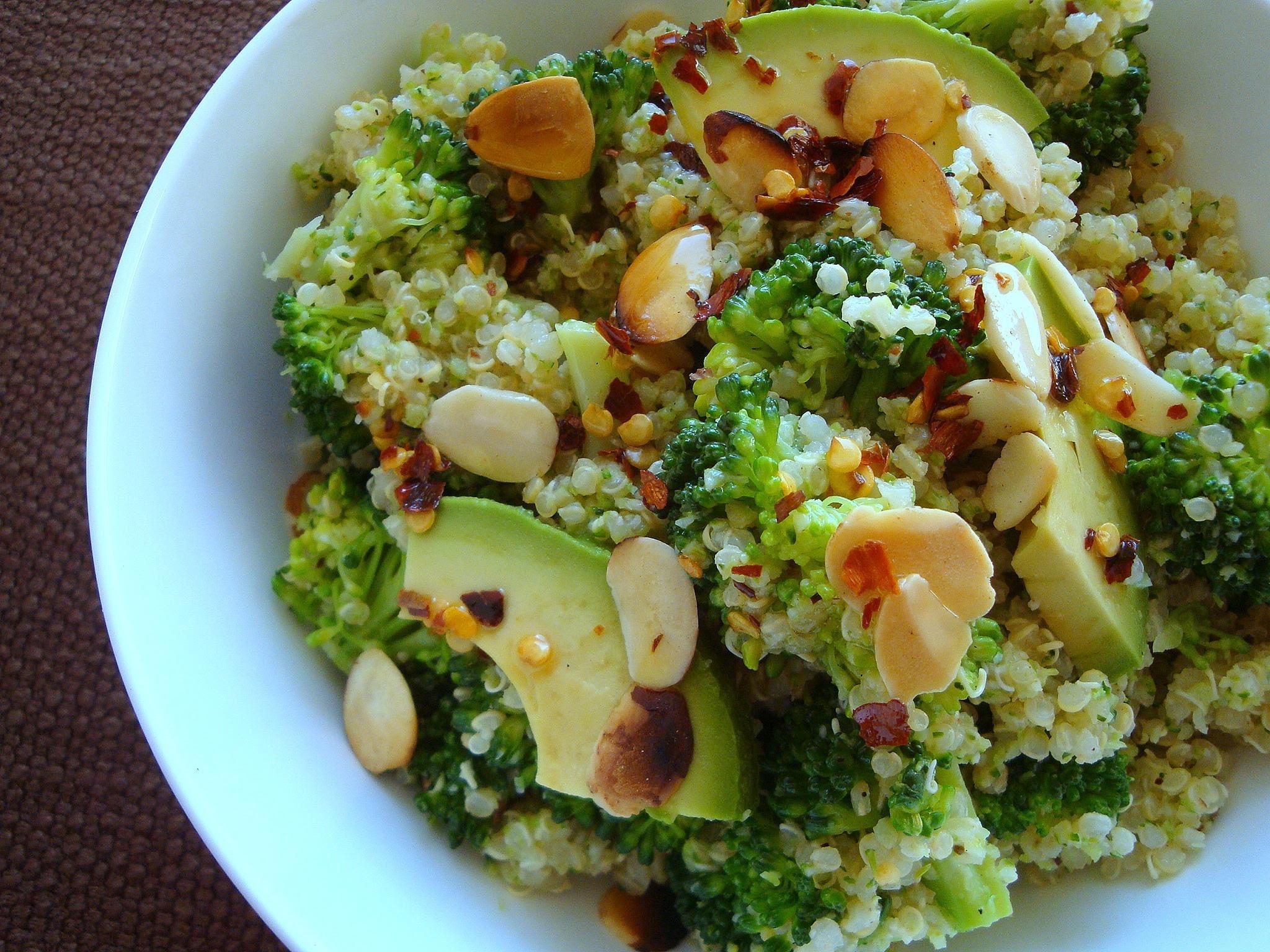 Ensalada de quinoa y lenteja