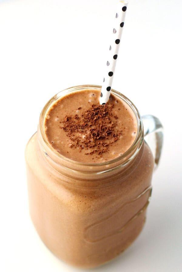 Chocopeanutbutter smoothie