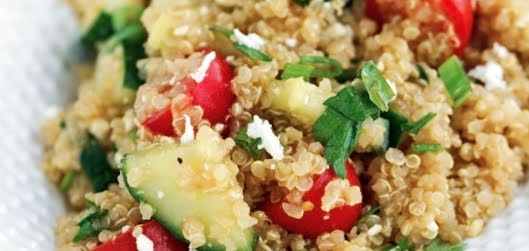 Ensalada de panela y quinoa