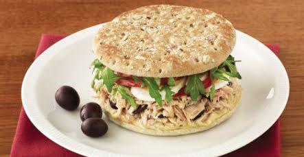 Sándwich bajo en calorías