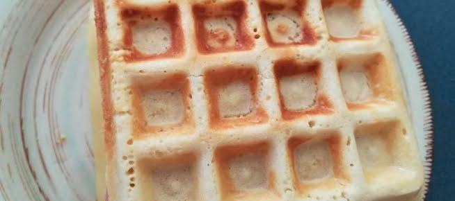 Sándwich de waffle