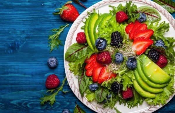 Ensalada de berries