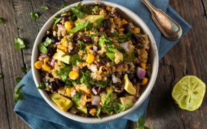 Bowl de quinoa y frijol