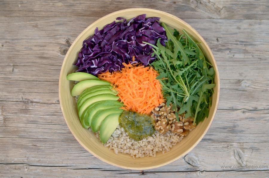 Buddah bowl de arroz