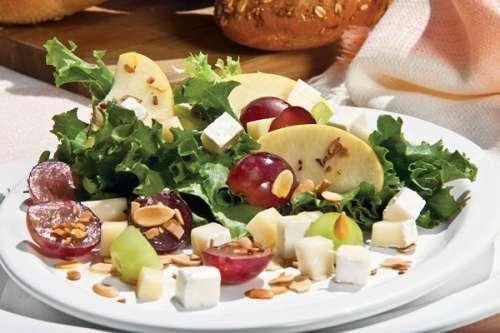 Ensalada de panela y frutos