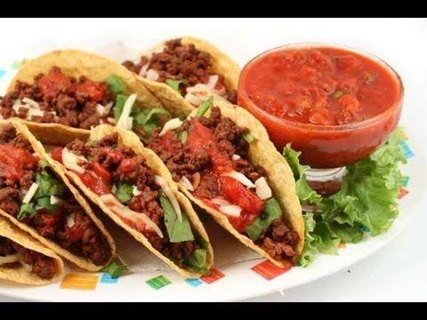 Tacos de chuleta adobada