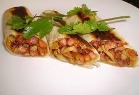 Burritos de chuleta