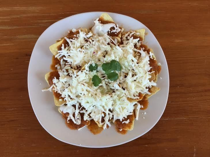 Chilaquiles saludables