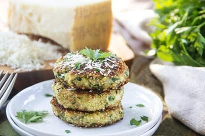 Tortitas de quinoa y calabaza