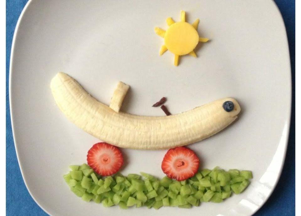 Cochecito de plátano