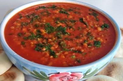 Sopa de leguminosas y verduras
