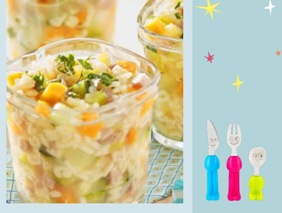 Sopa de pasta, verduras y pechuga de pavo horneada