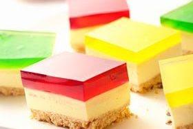 Cheesecake de gelatina