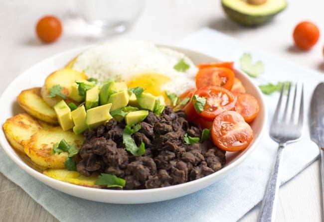 Veggie breakfast bowl