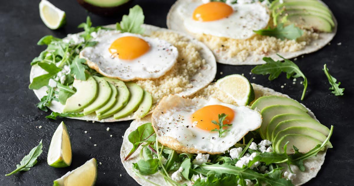 Wrap de huevo