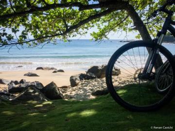 Mountain Bike Praia do Jabaquara - Ilhabela