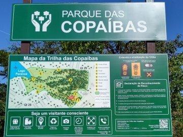 Quarta Trilha do Projeto Carcará nos Parques do DF