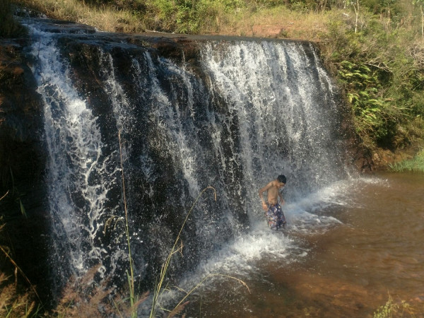 Cachoeira no Rio Ligeiro