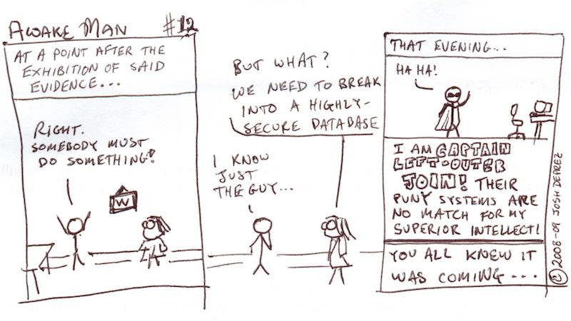 Awakeman! comic