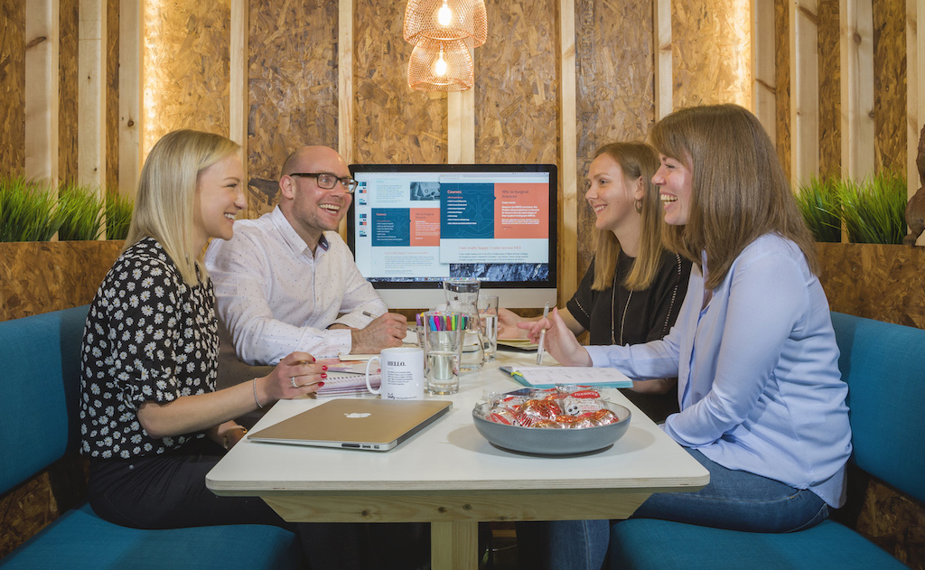 Firefly Design on collaborating from the Edinburgh coworking Hub