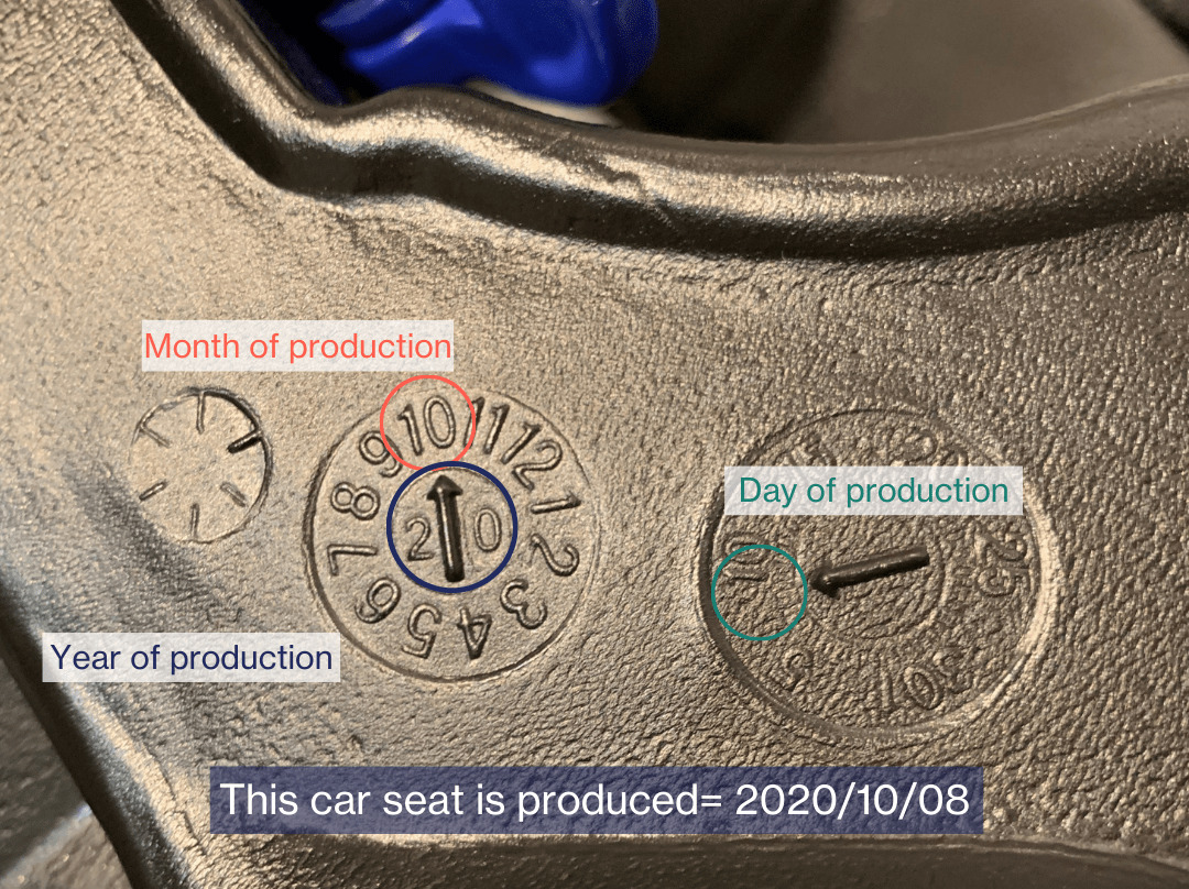 Production Car Seat Date