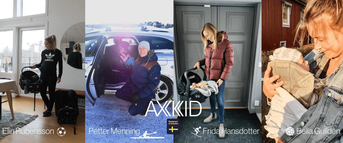 Elin Rubensson Petter Menning Frida Hansdotter Bella Gulldén