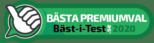 Bästa Premiumval 2020 – Bäst-i-Test
