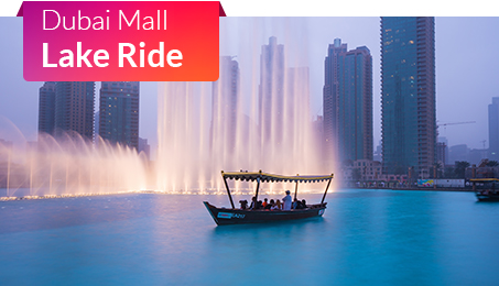 Dubai Mall Lake Ride