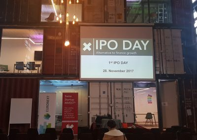 IPO DAY Zurich 2018