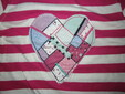 Хлопковая футболка для девочки 12-18 мес. 86 см