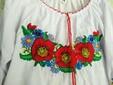 Яркая вышиванка для девочки