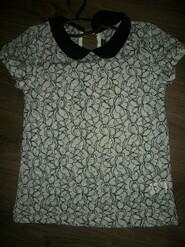 кружевная блуза в школу на 10-11 лет от Candy Couture Кенди Кутюр