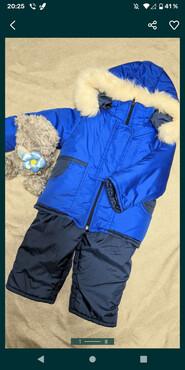 Зимовий комбінезон штани і куртка для хлопчика