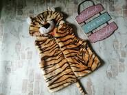 Жилетка тигр примерно на 3 года