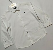 Белая классическая рубашка Mayoral р. 92