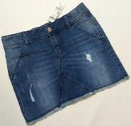 Синяя джинсовая юбка Benetton р. 10-11 лет