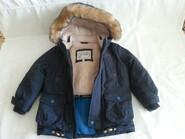 куртка детская зимняя,