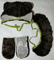 Костюм медведя для мальчика р. 104-110