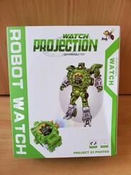 Детские часы-трансформер Robot Watch 3 в 1 с проектором. Оригинал