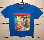Футболка Супермен 134 р., в отличном состоянии