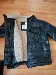 Куртка экокожа НА МЕХУ 74-82