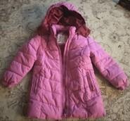 Розовая курточка для девочки