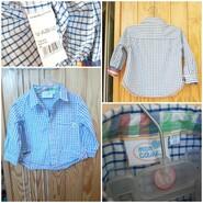 Рубашка в клетку Mon coeur и Mamas&Papas