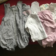 Одяг для дівчинки від 0-80 см