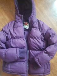 Фіолетова зимова куртка  Lee Cooper