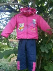 зимний костюм на девочку